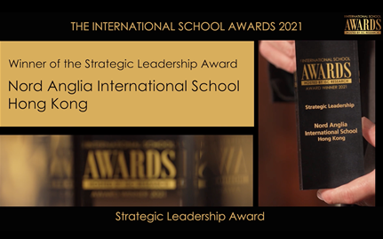 Winner of Strategic Leadership Award - NAIS Hong Kong