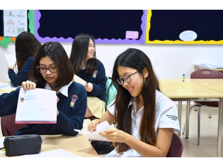 Y11 receive mock exam result