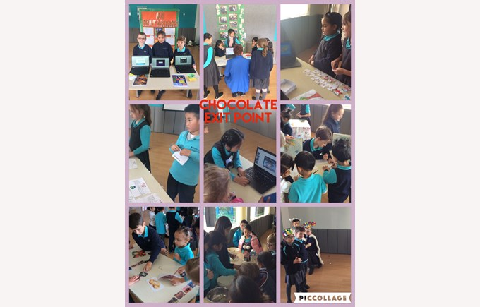 Year 4 share their learning about chocolate