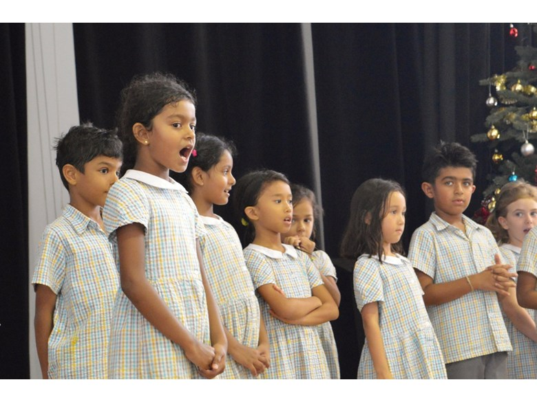 Lower Primary Christmas Rehearsal 2016