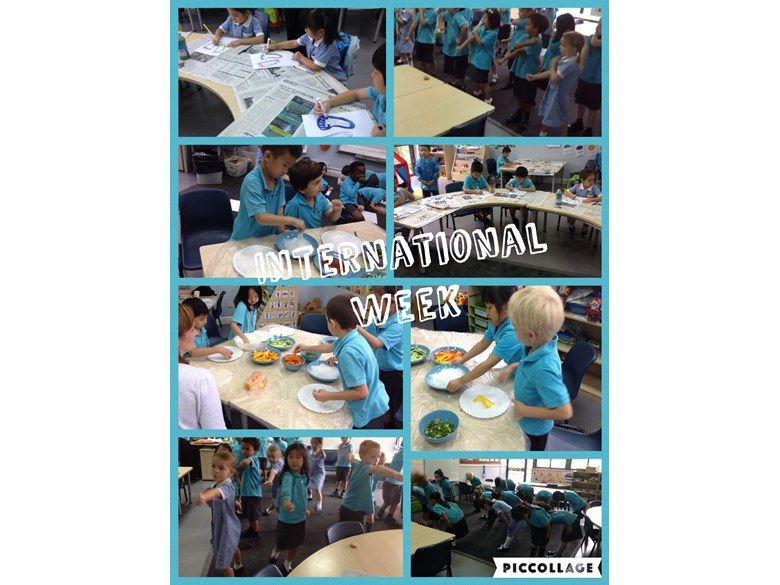 International Fun in Year 1