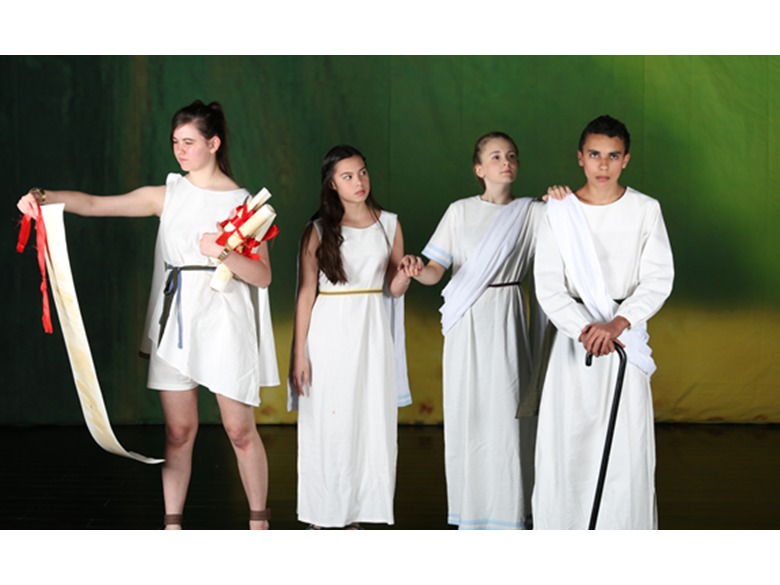 Students at BISS Puxi put on A Midsummer Night's Dream