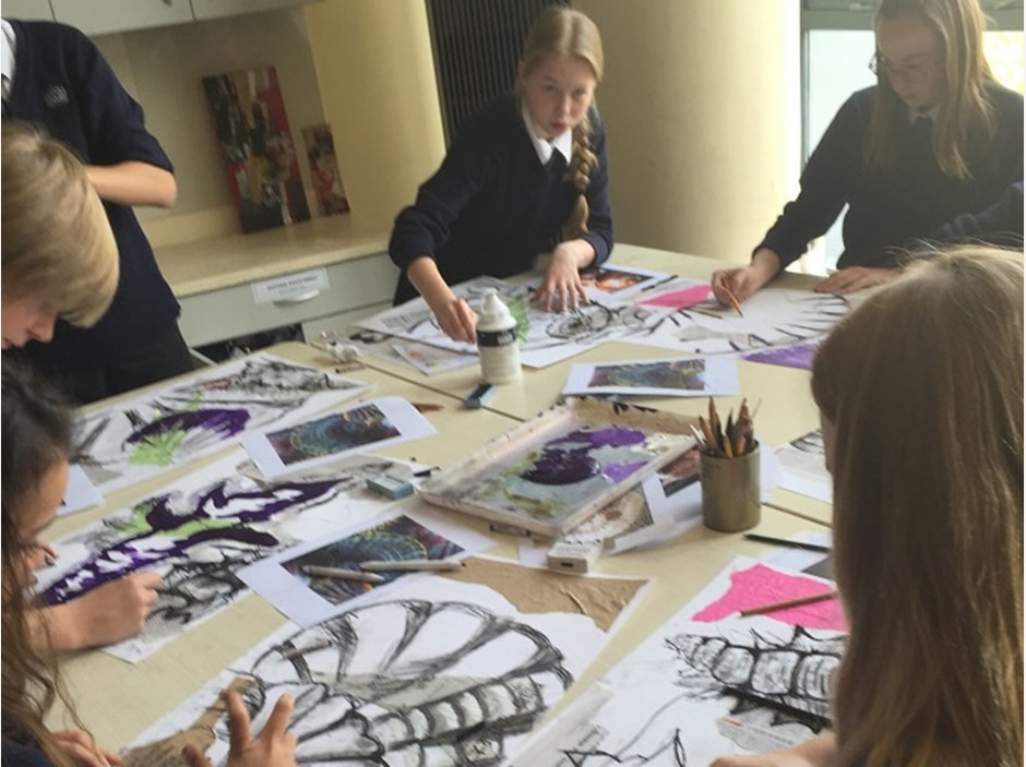 Year 9 GCSE Art Taster Session