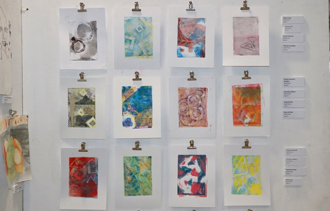 Dover Court International School Singapore Art and DT Exhibition