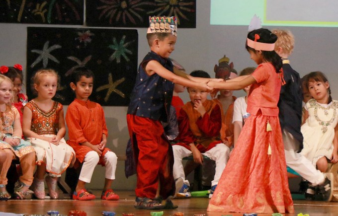 Lower Primary Assembly: Deepavali by 1JF, 1SK and 1SG