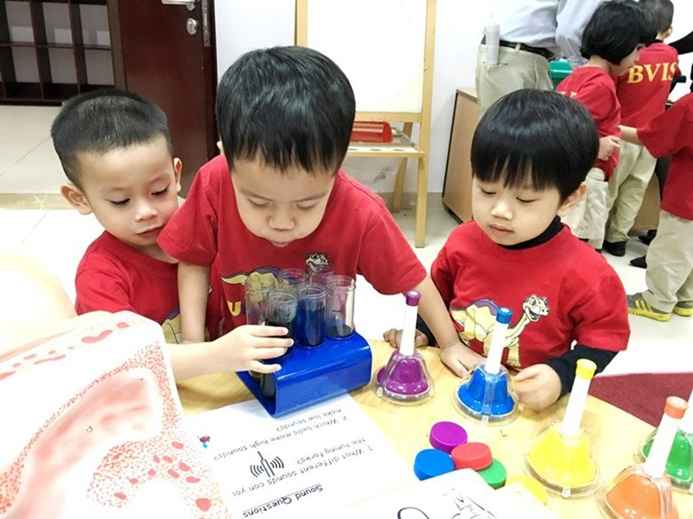 BVIS Hanoi International Early Years School - Science day (1)