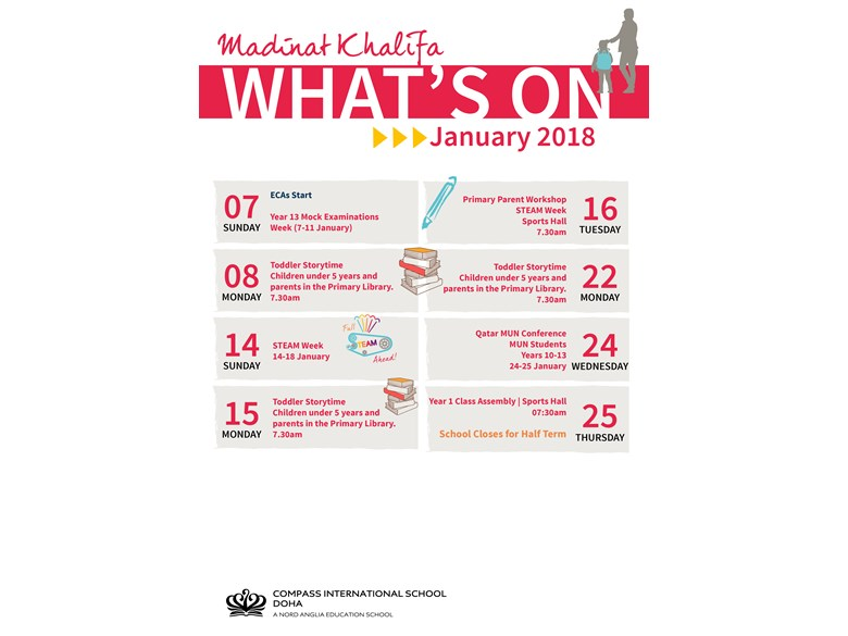 MK What's on January