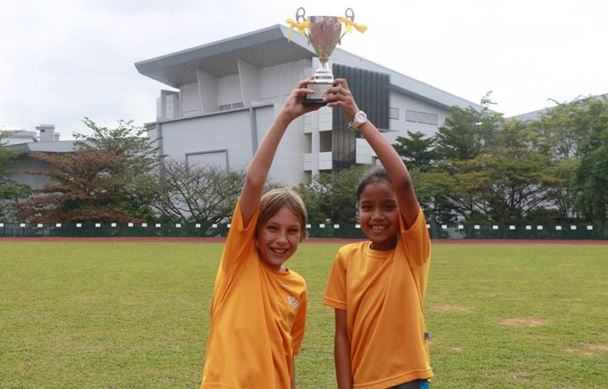 Dover Court International School Singapore, Year 6 Sports Day Winners Newton