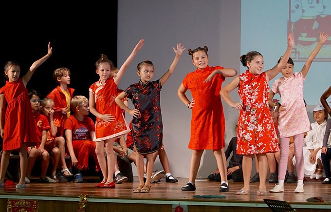 Upper Primary Assembly Chinese New year Celebration