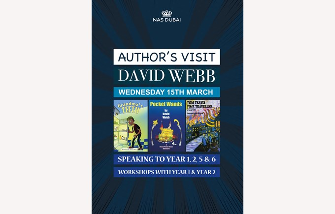 Author's Visit - David Webb