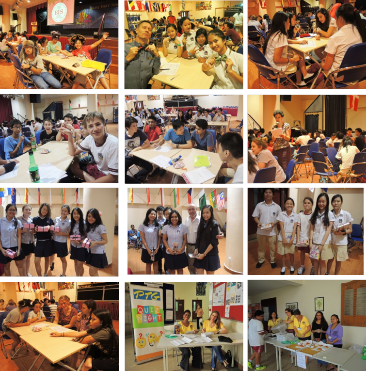 British International School, Ho Chi Minh City - Secondary PTG Quiz