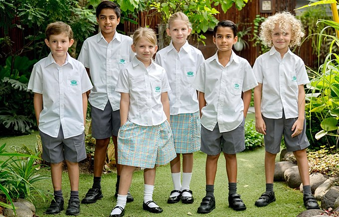 DCIS Upper Primary School Uniforms