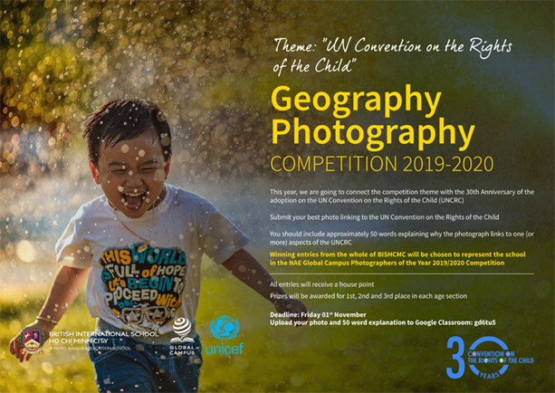BIS HCMC Geography Photography Competition 2019