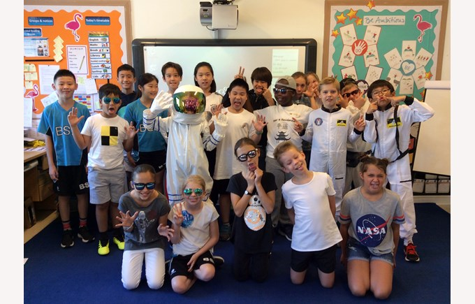 Y5 train to be astronauts