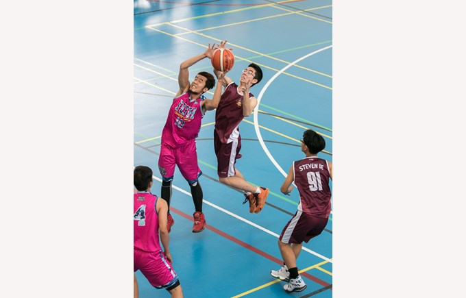 RMIT Basketball Open 2017 featuring BISHCMC 5