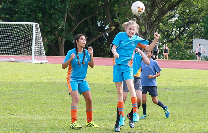 U12 ACSIS Girls Football VS NPS