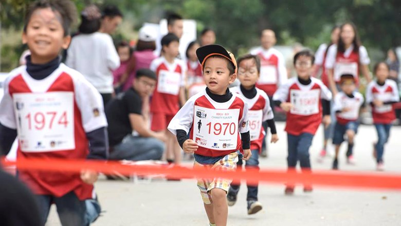BIS Hanoi Fun run