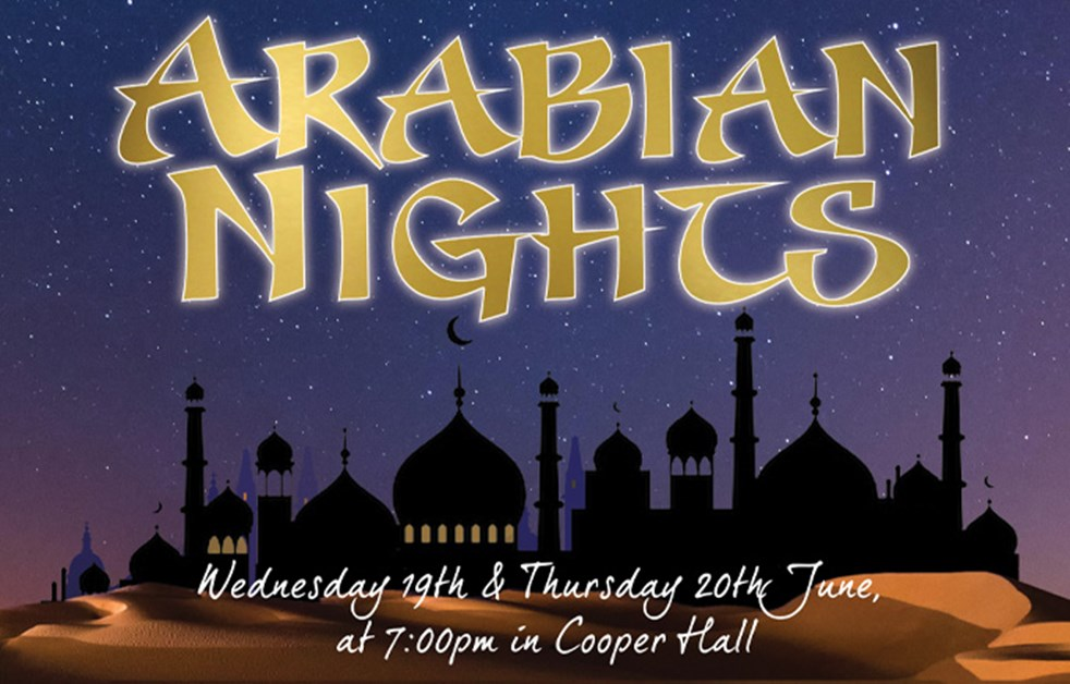 Arabian Nights Production Poster