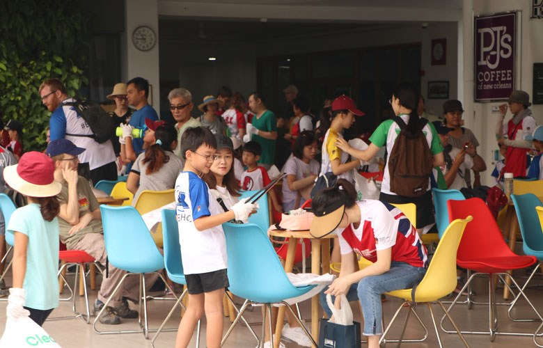 World Clean Up Day - British International School HCMC
