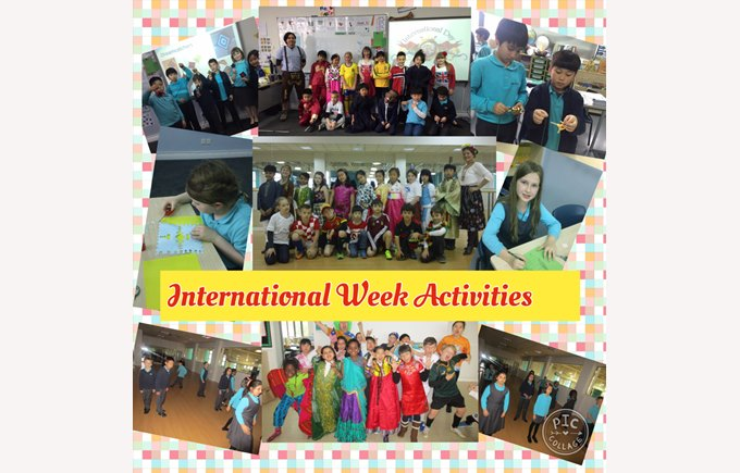 International Week in Year 4