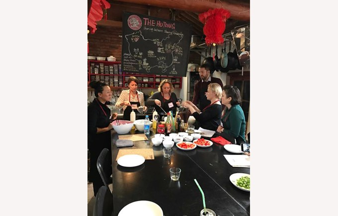 PA Cooking Class at The Hutong
