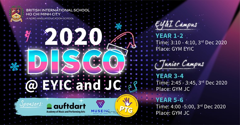 PTG Primary Disco 2020 Poster