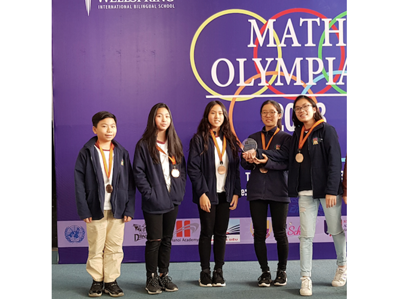 British International School Hanoi maths olympiad