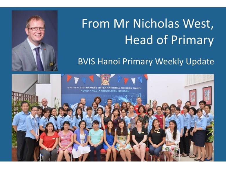 Primary weekly update 20150911