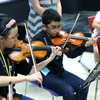 Global Orchestra Violinists