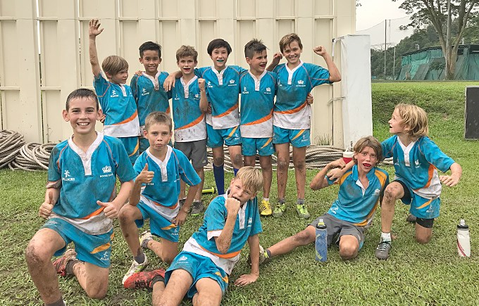 DCIS U12 Boys Rugby Division 2 Champions!