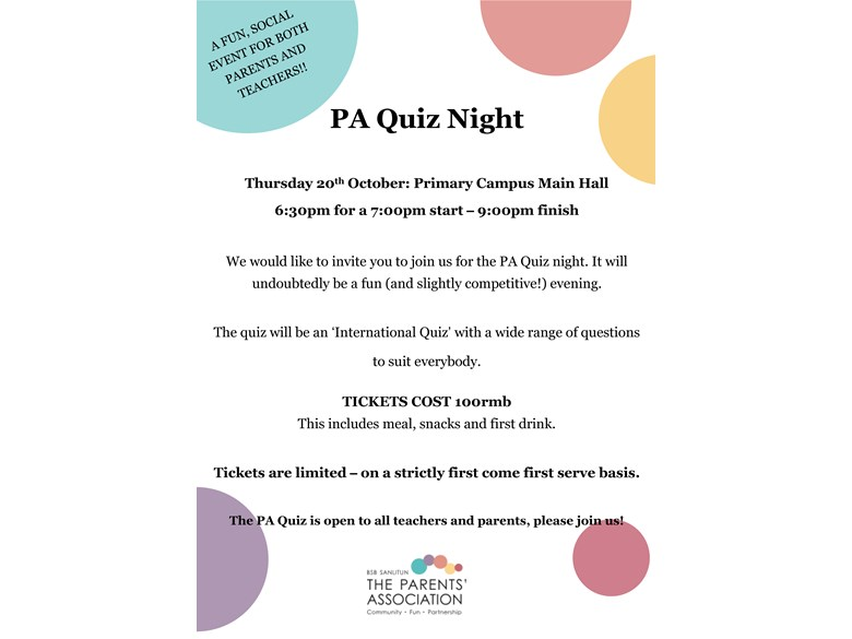 PA QUIZ NIGHT