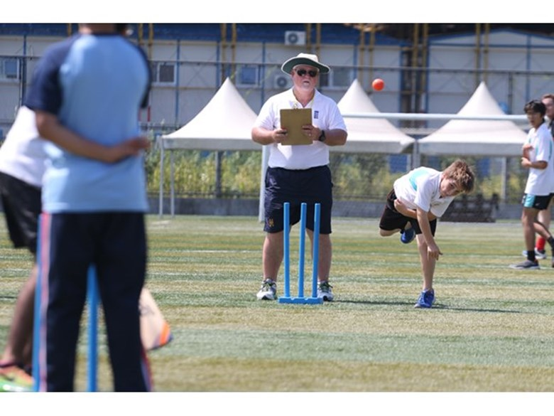 Mike Gatting Cricket Clinic