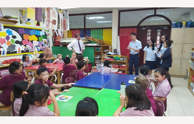BIS Ho Chi Minh Mr Simon Higham weekly Update - Coll learning