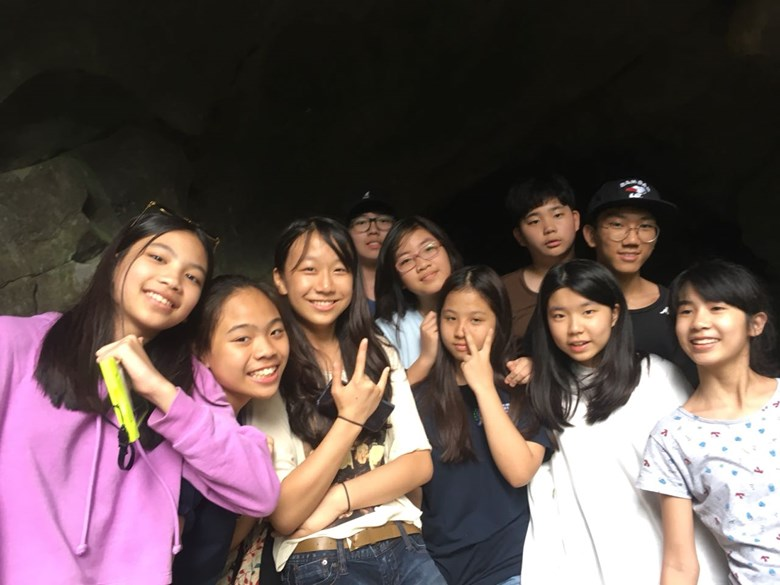 British International School Hanoi Y8 Cat Ba Trip 2018 (8)