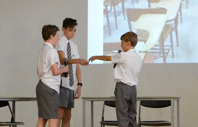 Year 7C's Assembly Presentation