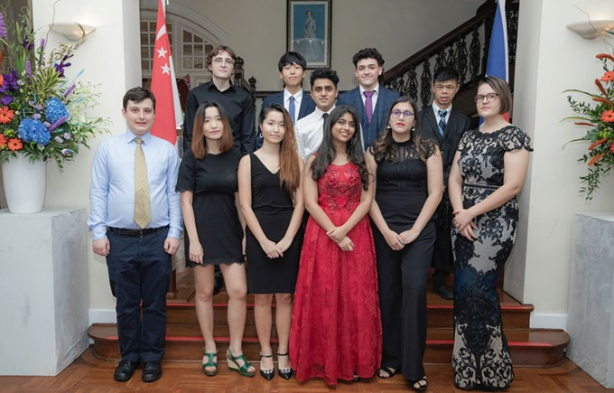Year 13 Graduation Dover Court International School Singapore