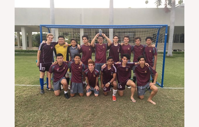 British International School, HCMC, U19 Boys SISAC City Football Champions 2017
