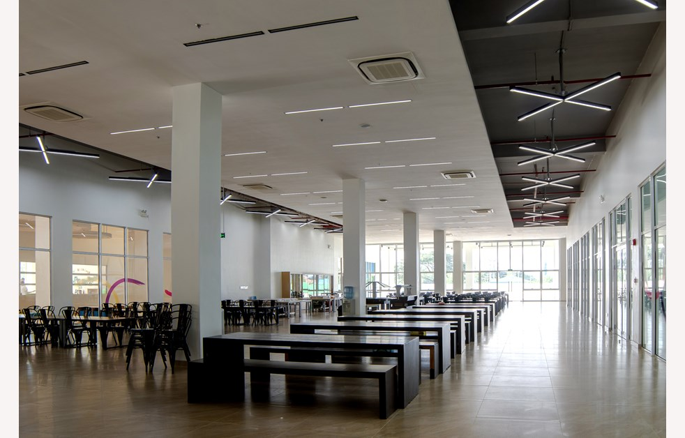 Grand Hall temp Canteen