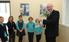 Kevin Foyle with Year 4 students