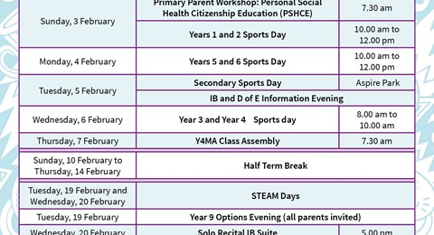 Madinat Khalifa What's on in February