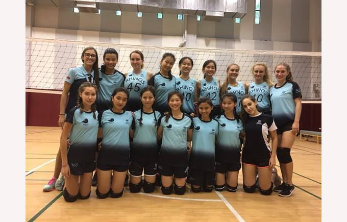 U19 Girls Volleyball 2018