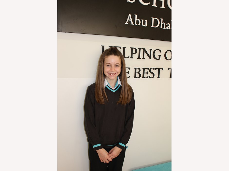 Isabella Engles - The British International School Abu Dhabi