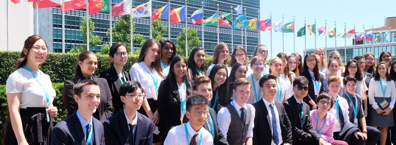 NAE Students from around the world came together in NYC to discuss the Global Goals, including 3 BIS HCMC students!