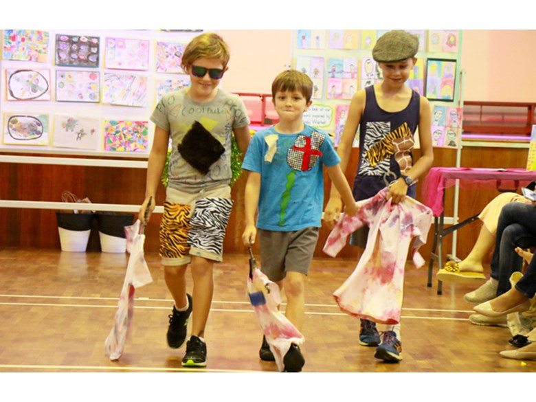Dover Court International School Singapore, Year 4 IPC Exit Point Fashion