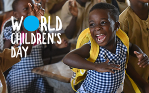 world children's day - link image