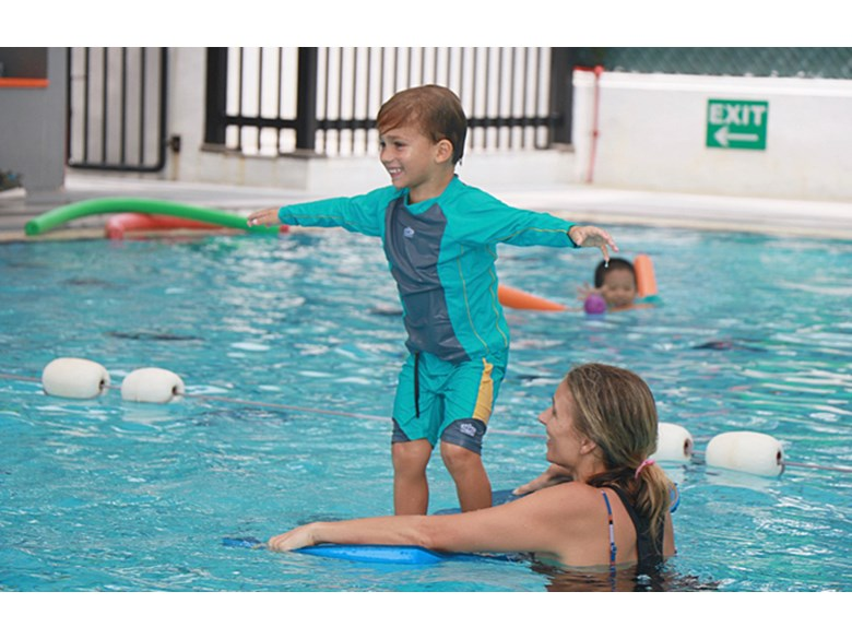 Parent Play and Water Confidence Session