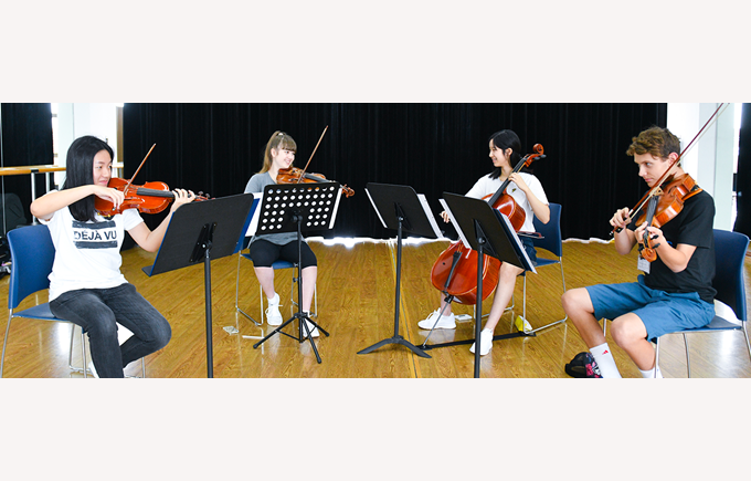 Dover Court International School Singapore Nord Anglia Education In tune with success about Juilliard NAE summer camps