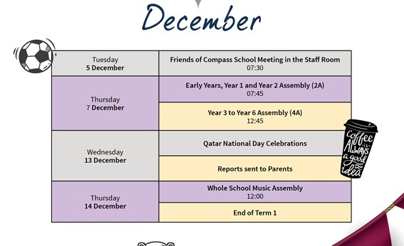 Gharaffa What's on December