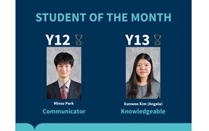 Jan IB Student of the Month