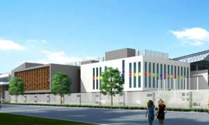 Artist impression of the new school opening September 2014